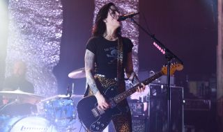Brody Dalle performs with The Distillers at Metro on May 22, 2019 in Chicago, Illinois
