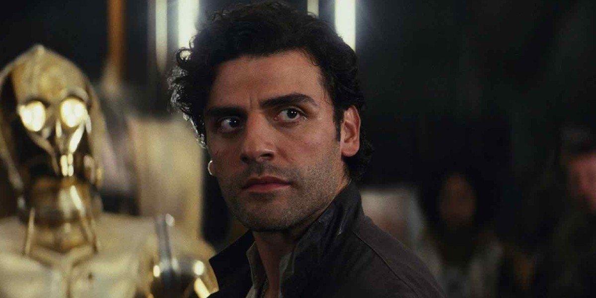 Oscar Isaac as Poe Dameron in Star Wars: The Last Jedi (2017)