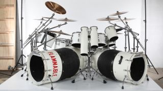 Alex Van Halen 1980 Ludwig drum kit
