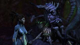 Kerrigan speaking with Zagara