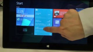 Windows 8 interactive live tiles