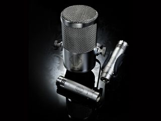 The Sontronics mics blend well and capture a good close-up picture of the kit.