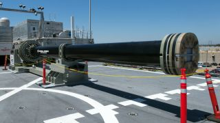 The US Navy is pushing ahead with its electromagnetic cannon