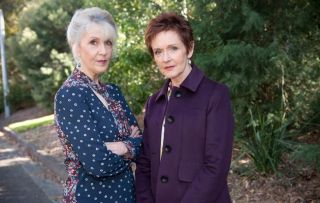 Neighbours - Susan Kennedy and Liz Conway