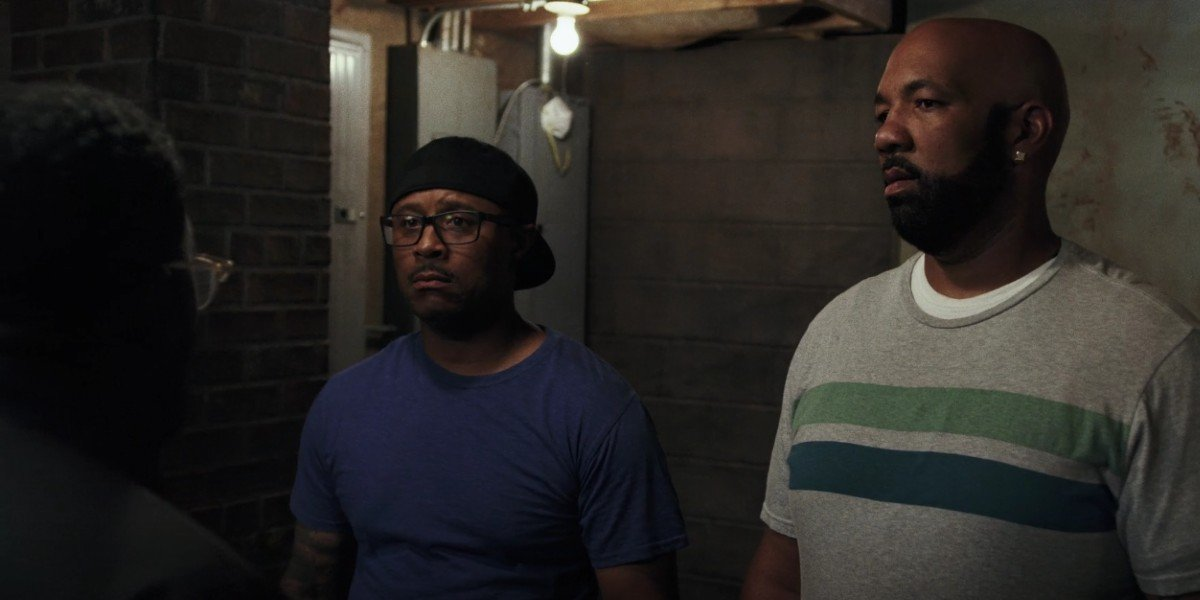 Sultan Salahuddin, Lil Rel Howery, and Kareme Young in South Side on Comedy Central