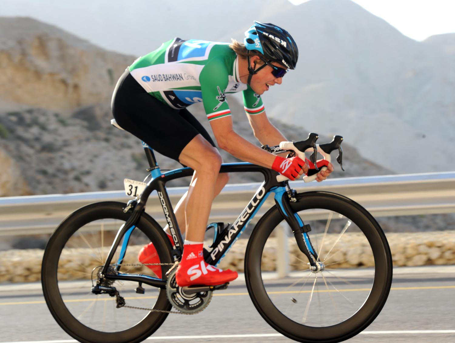 Edvald Boasson Hagen, Tour of Oman 2011, stage five time trial