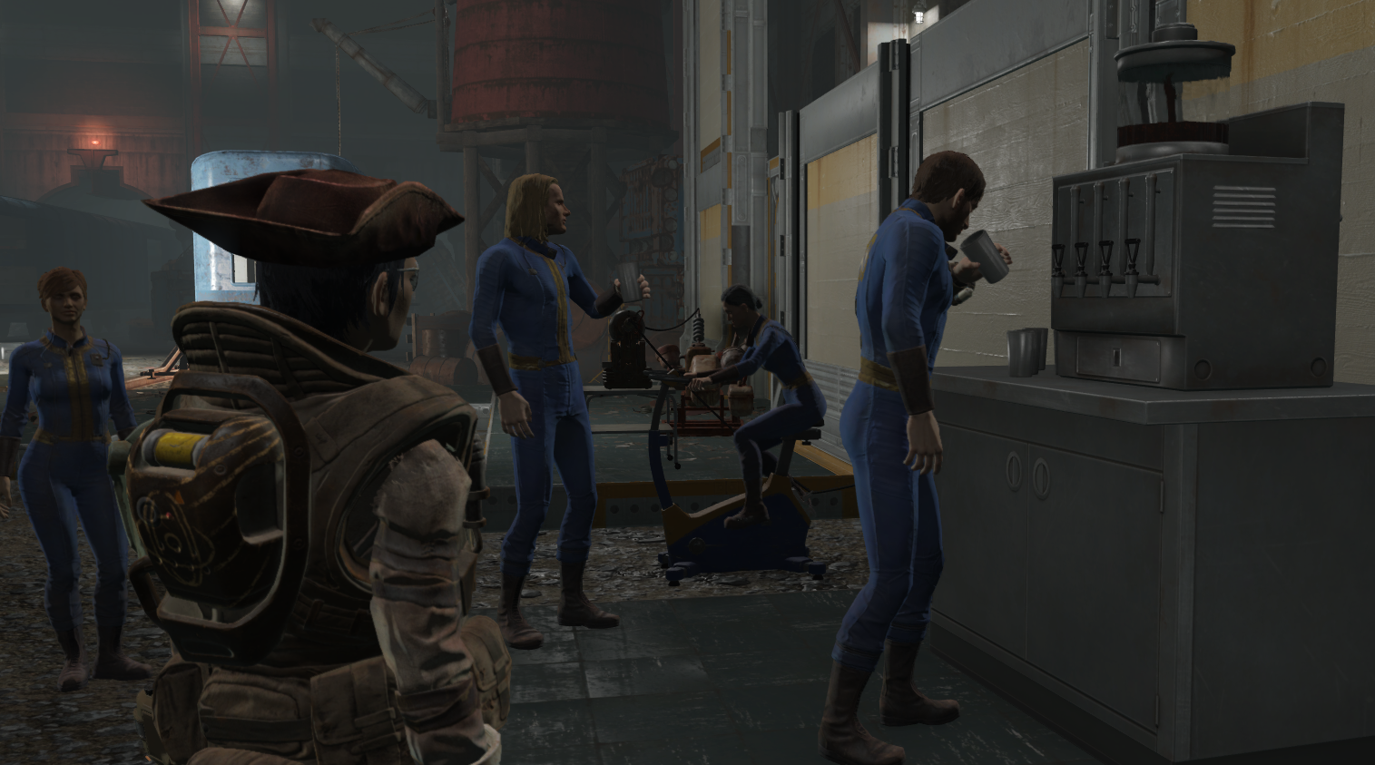 Fallout 4's Vault-Tec Workshop doesn't make you feel much like an