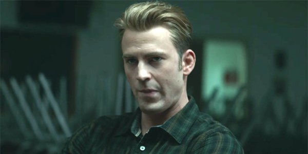 Avengers Endgame Steve Rogers twists mouth in therapy Chris Evans Marvel Studios