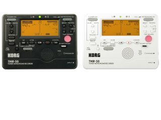 The TMR-50's tuner, metronome, and recorder can be used simultaneously or independently