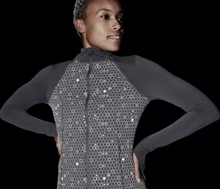 sweaty betty Power Reflective Gym Zip Through Jacket