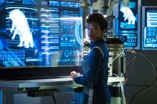 Captain Michael Burnham, star trek discovery