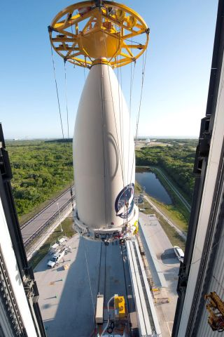ULA Photo of X-37B Space Place Payload
