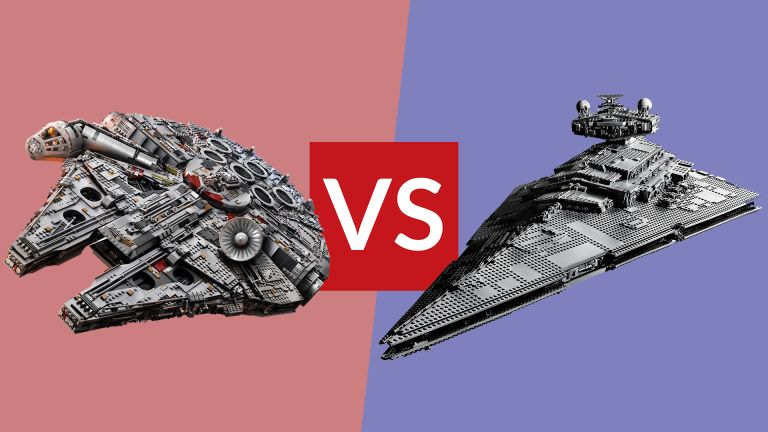 Lego Star Wars Millennium Falcon vs Lego Imperial Star Destroyer