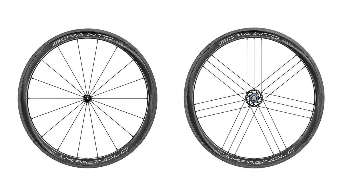 1 Pair 58mm Replacement Brake Pads Blocks for Road Bike Carbon Wheel Black