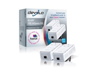 dLAN 200 AVpass (freesat) kit