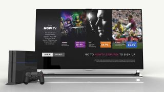 Now TV lands on PlayStation 4