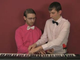 Brett Domino and Steven Peavis: making beautiful music together.