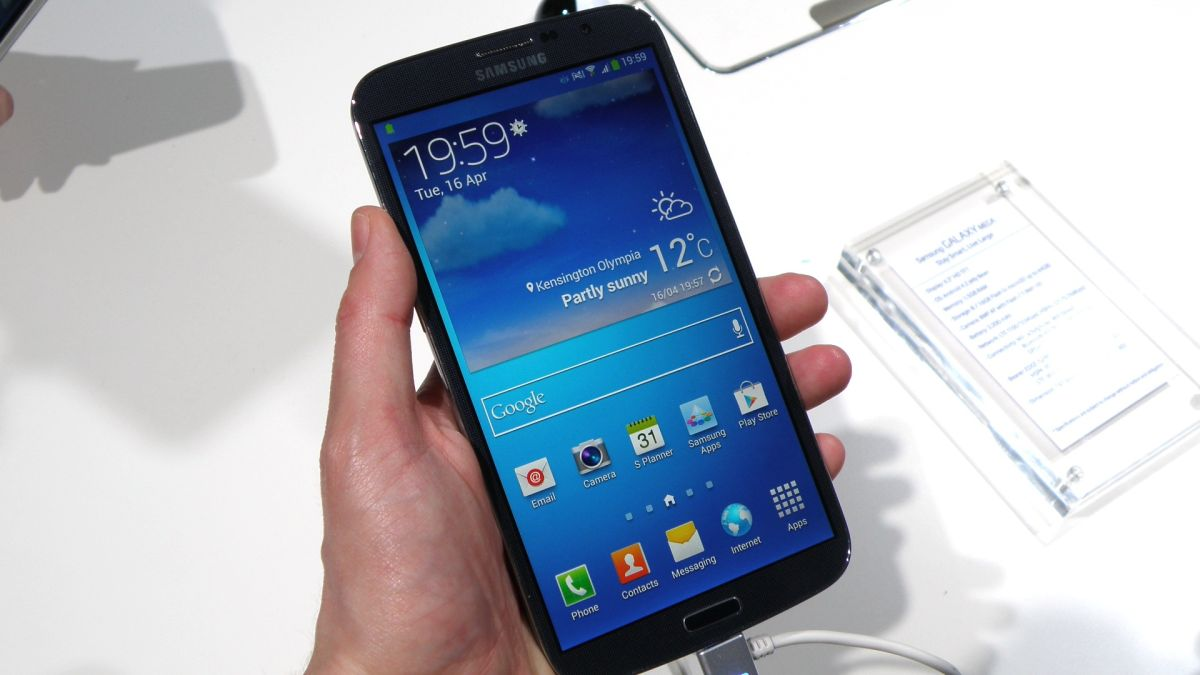 Samsung Galaxy Mega to hit shelves this July for £459.99