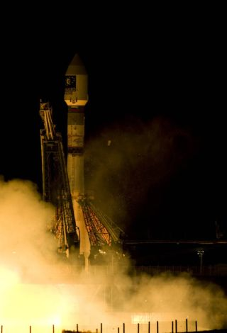 Europe's Second Navigation System Test Satellite Blasts Off