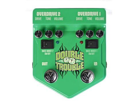 Visual Sound's dual-channel overdrive pedal.