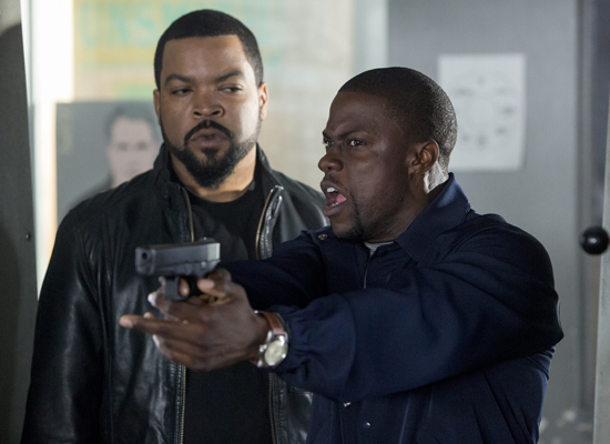 Ride Along Film Review Ice Cube Kevin Hart Deliver A
