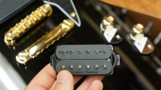 How to fit a humbucker with a coil-split