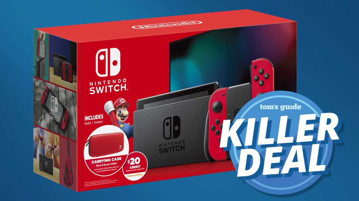 Forget Cyber Monday: This Nintendo Switch Walmart bundle is even better