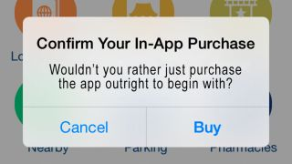 iPhone in-app purchase
