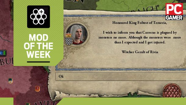 Mod of the Week: Witcher Kings, for Crusader Kings 2 | PC Gamer