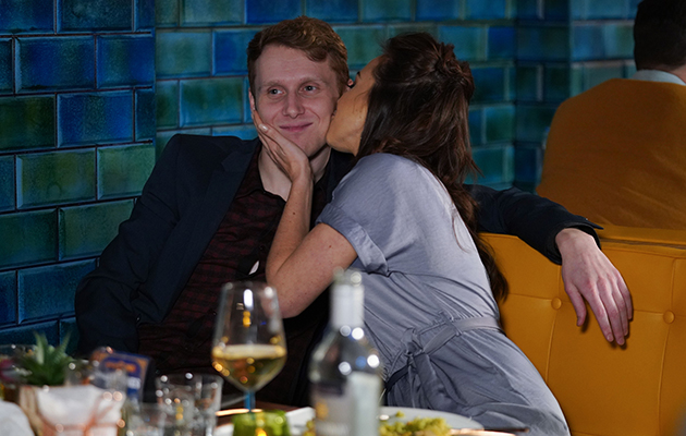 EastEnders Jay Mitchell and Ruby Allen