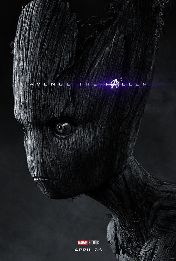 Groot dusted ahead of Avengers: Endgame, first look poster