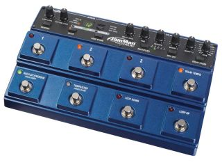 Fully programmable stereo delay