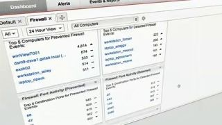A dashboard from a Trend Micro security product