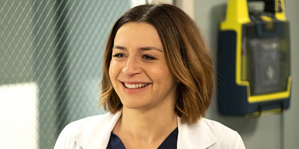 Grey's Anatomy Season 15 Caterina Scorsone Amelia Shepherd ABC