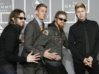 Mastodon in their natural setting...the Grammy Awards!