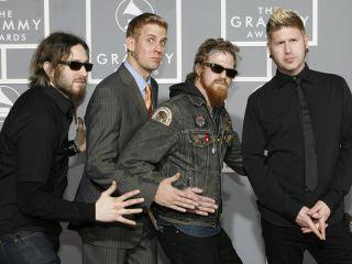 Mastodon in their natural setting the Grammy Awards