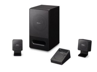 Sony's iPod-dockable SRS-GD50iP 2.1 PC audio system