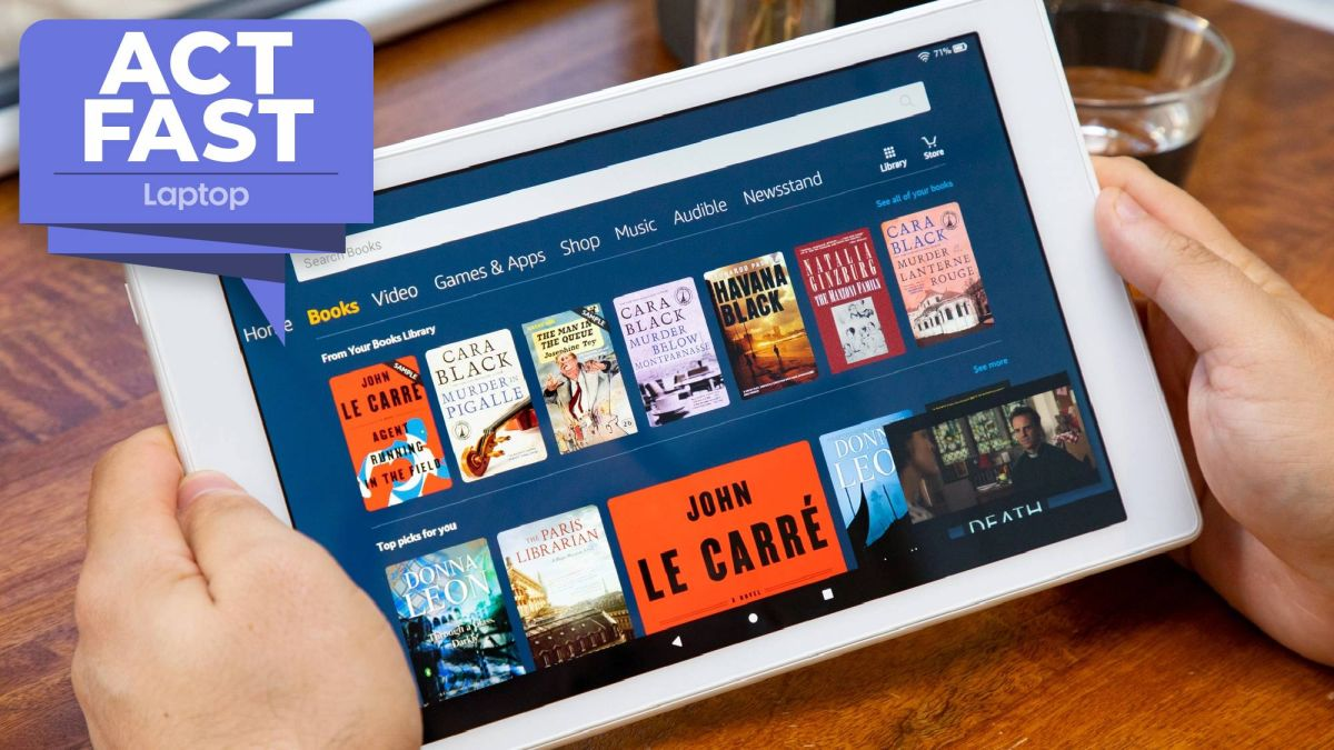 Hurry! Amazon Fire HD 10 64GB tablet drops to $108 in one-day flash sale