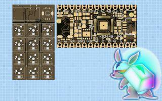 Adafruit Keeb Board and KB2040