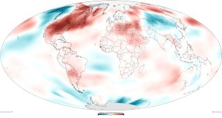 global surface temperatures