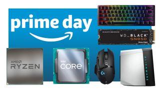 Amazon Prime Day homepage image
