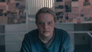 Elisabeth Moss in The Handmaids Tale, which is returning for season 5.