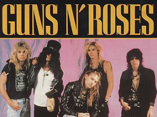 Guns N' Roses: babysitting probably wasn't their forte.