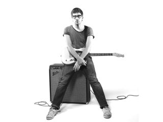 Glasses? Check. Striped t-shirt? Check. Telecaster? Naturally...