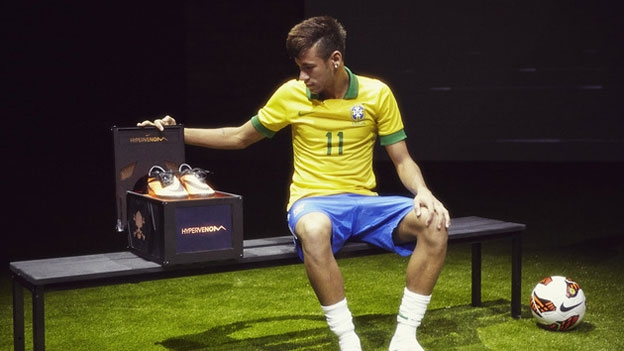 f846d3b6028f New Nike Hypervenom boots launched by Neymar in Rio