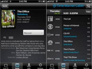 Time Warner Cable app brings live TV to iPhone