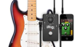 iRig Stomp: plays nice with your new iPhone.