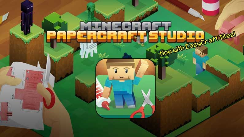 How To Create 3d Paper Models Of Your Minecraft Creations