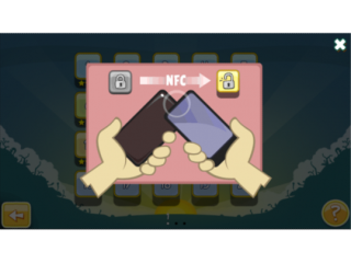 Angry Birds Magic - with NFC
