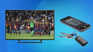 Panasonic 42-inch LED and Gear 4 KeyBeacon